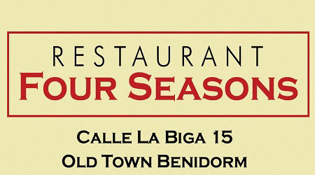 Four Seasons Restaurant Benidorm Old Town