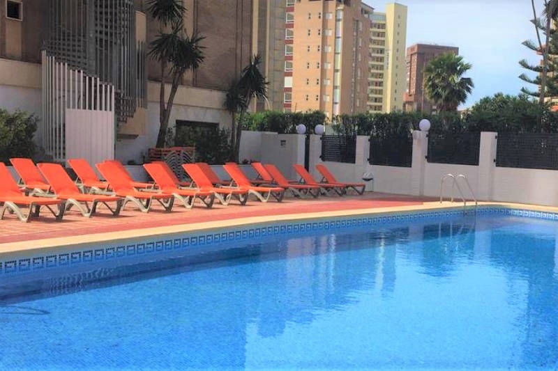 MC Amalia Apartment Levante Benidorm Spain - new pool