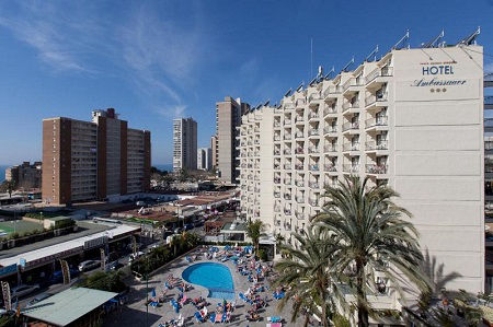 3 star Hotel Ambassador Playa Benidorm Spain