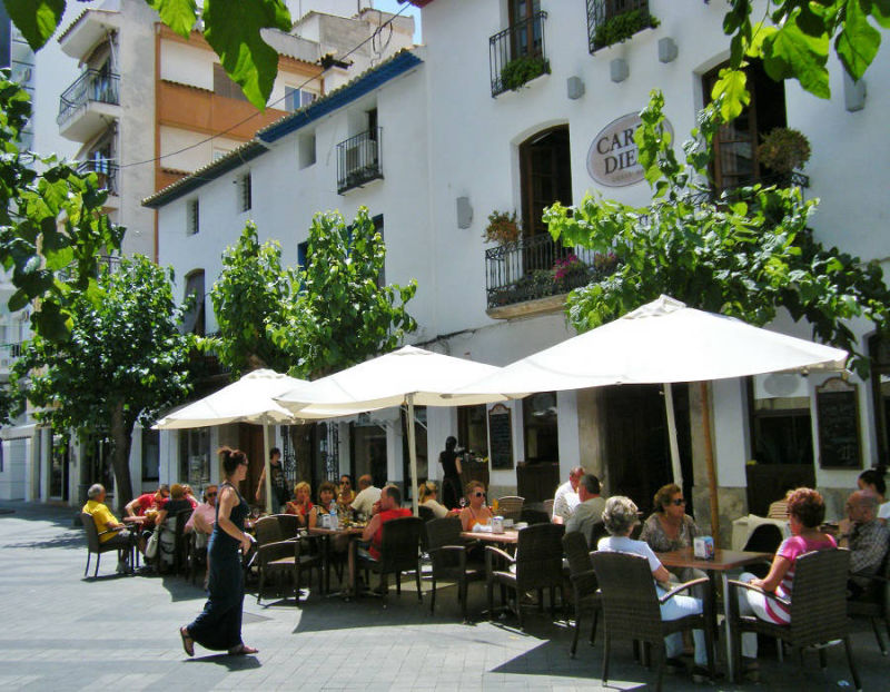 Carpe Diem Restaurant in Benidorm Old Town
