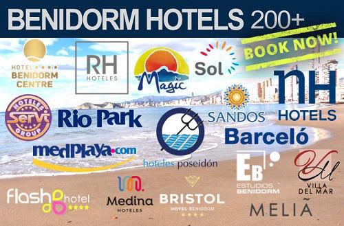 Benidorm Hotels from £29