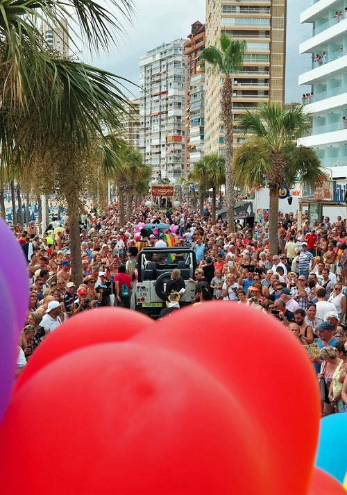 gay pride parade in Benidorm for the year Details Event