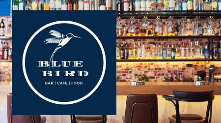 Blue Bird Bar Cafe Food: Av. de la Armada Española, 17 Playa Poniente Benidorm
