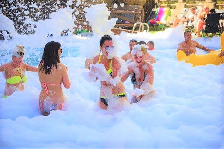 Benidorm Celebrations Pool Party All Inclusve Aparthotel Benidorm