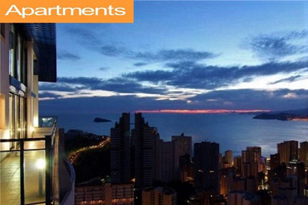 Cheap self-catering apartments in Benidorm