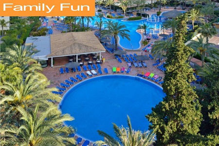 Family Hotels for Family Holidays in Benidorm