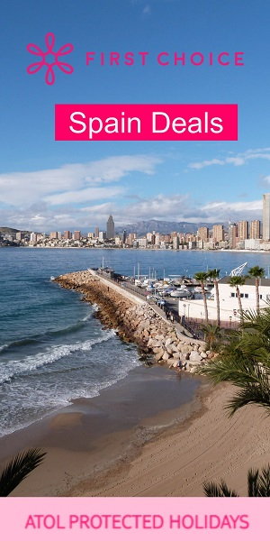FIRST CHOICE Benidorm Holidays and Spain Deals
