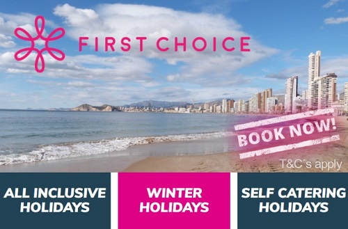 FIRST CHOICE Benidorm Holidays