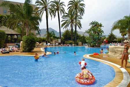 4 Star Flamingo Oasis All Inclusive Family Hotel Benidorm Playa Levante