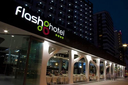 Flash Hotel Rincon de Loix Benidorm. A 4 Star adult only hotel.