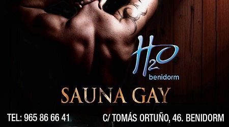H20 Gay Sauna Benidorm Spain (Gay Men).