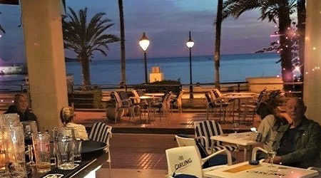 Harbour View Café Bar Benidorm Seafront