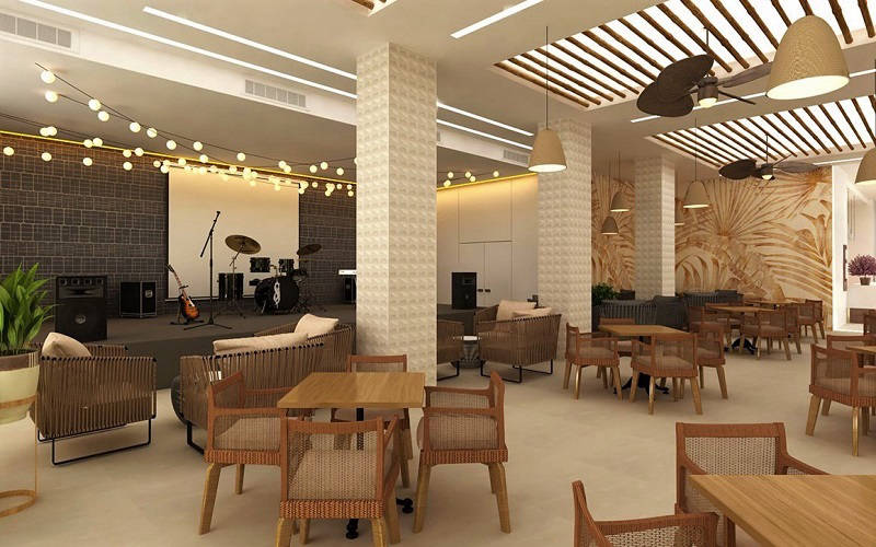 Hotel Benidorm Centre Cabaret Bar with live music