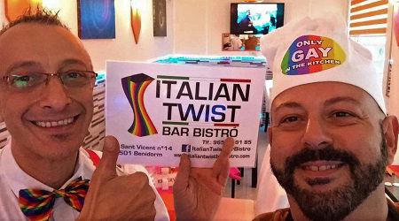 Italian Twist Bar, Bistro and Celebration Cakes (Gay Friendly) Benidorm