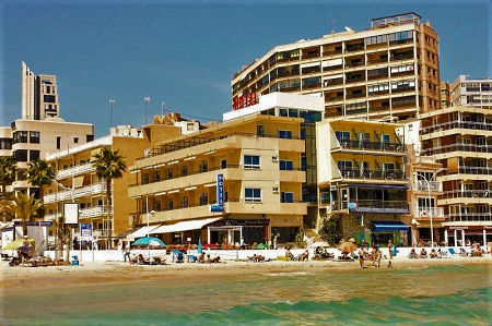 La Cala Hotel a waters edge beach hotel in Cala Finestrat near Benidorm