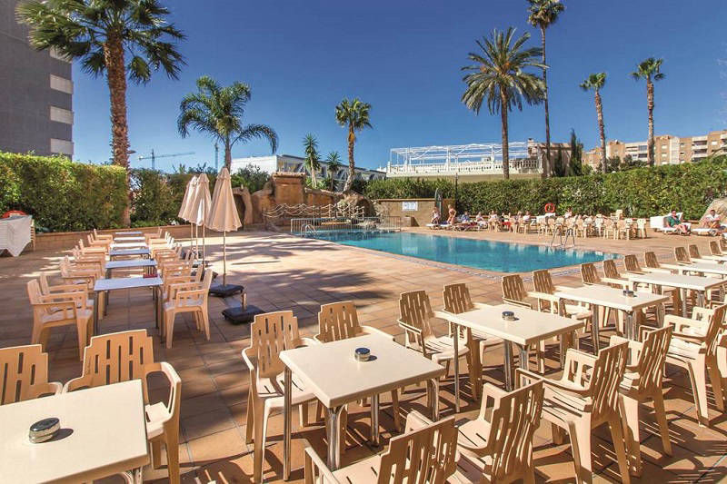 La Era Park aparthotel Benidorm - pool terrace bar