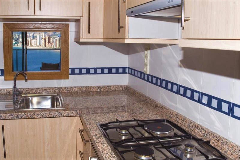 Apartments Lido Benidorm Spain Self Catering - kitchen