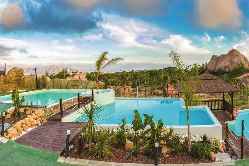 Magic Natura Family Holiday Animal and Waterpark Resort Hotel - Lagoon pool