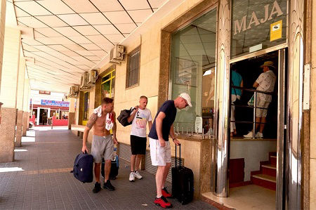 Apartments Maja offers accommodation ideal for Stag and Hen groups in Benidorm.
