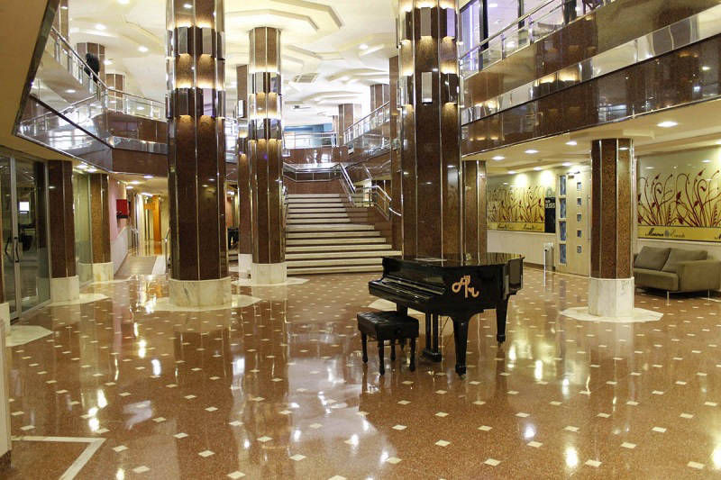 4 star Marina Hotel Benidorm: Lobby and reception