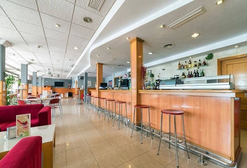 Montemar Beachfront Hotel Benidorm: Cafeteria bar