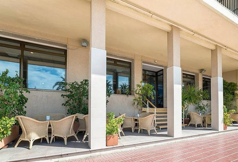 Montemar Beachfront Hotel Benidorm: Terrace