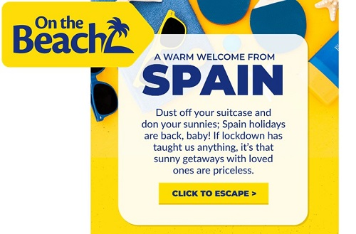 On the Beach: Cheap Benidorm and Spain holidays from £199