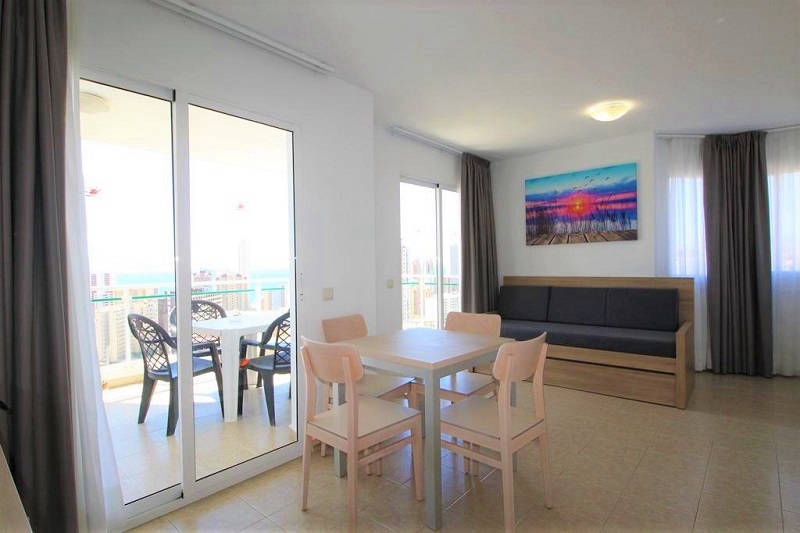 Playamar Apartments Levante Benidorm - Lounge refurnished in 2018