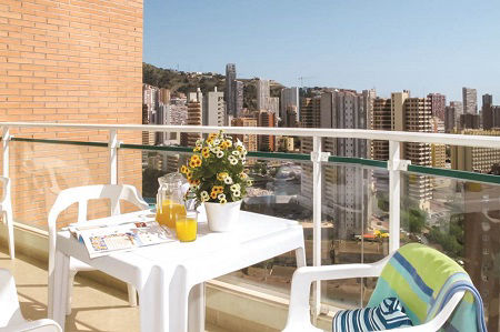 Playamar self catering apartments Benidorm Playa Levante