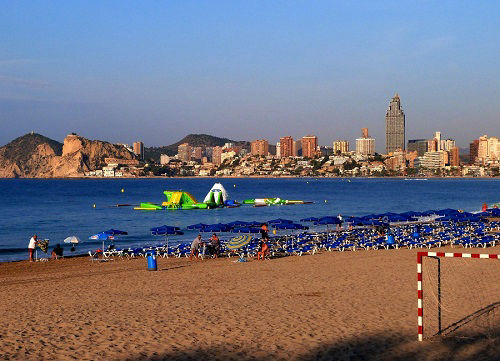 Poniente Playa Summer Inflatable Water Fun Park for the kids