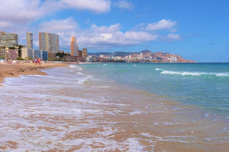 Benidorm Poniente Playa Waters Edge