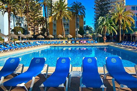 Servigroup 3 Star Hotel Pueblo, Benidorm Spain.
