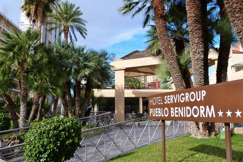 Servigroup Hotel Pueblo Playa Levante Benidorm