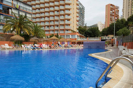 Regente 3 Star Holiday Hotel in Benidorm. All Inclusive holiday options.