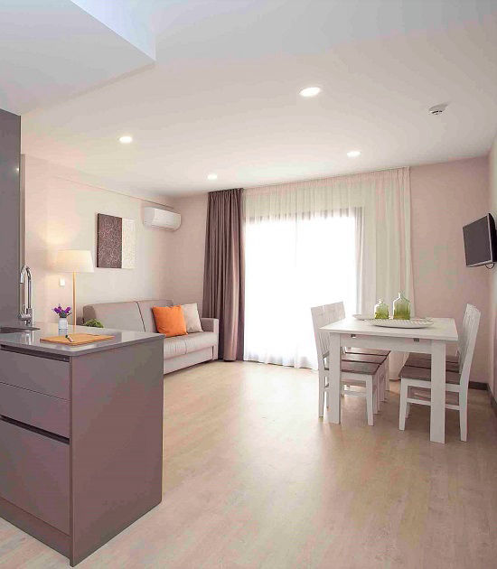 Ribera Self Catering Apartments and Studios Benidorm old town.