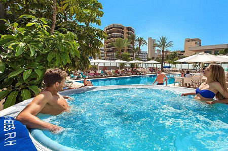 4 star Adult only RH Hotel Royal Benidorm Spain.
