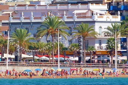 Senabre Beach Front Apartments Levante old town Benidorm Spain