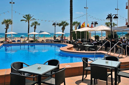 Sol Costablanca is a BEACH FRONT adult only Levante hotel.