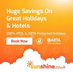 sunshine are usually cheapest for gay holidays in Benidorm (ATOL protected).