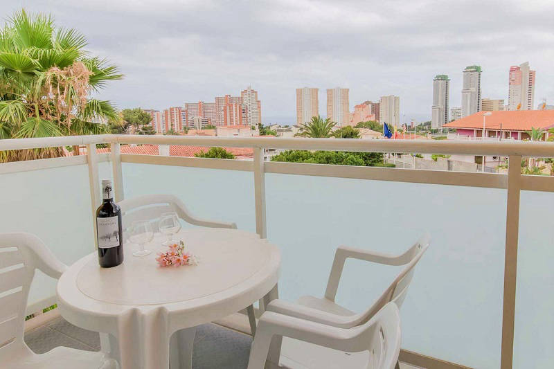 Terralta Aparthotel Benidorm - all apartments have a balcony