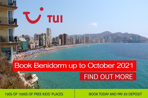 ATOL protected Benidorm package holidays from TUI