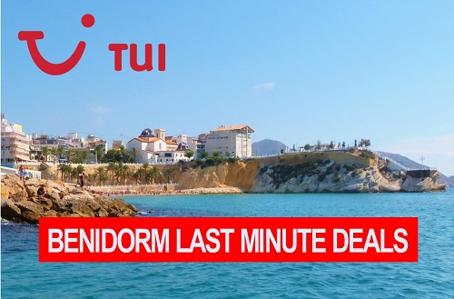 TUI Holidays perfect for Benidorm last minute late deal holidays.