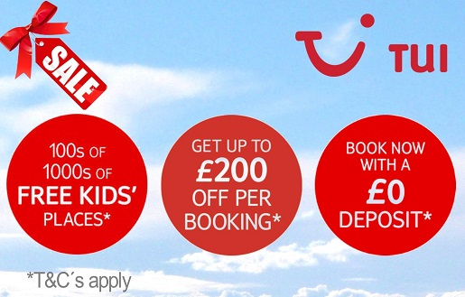 TUI Sale now on save up to £200 per booking on Benidorm Summer Holidays.