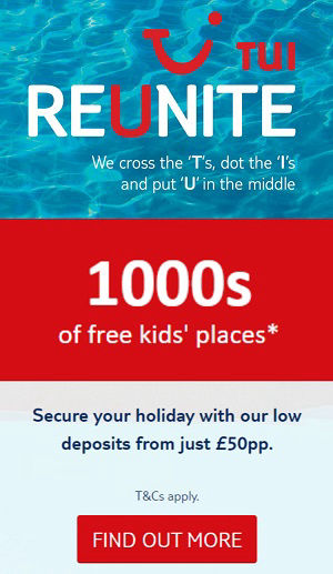 TUI Holidays: Benidorm Package Holidays ATOL Protected