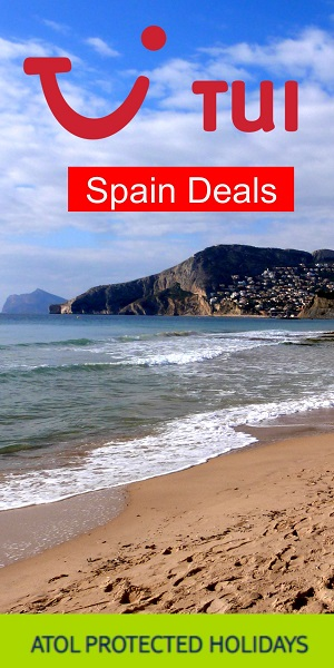 TUI Holidays: Spain deals