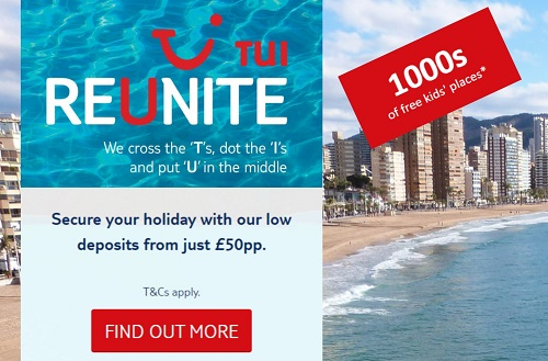 TUI Holidays in Spain