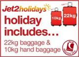Jet2 Albir Package Holidays with 22kg luggage and 10kg hand luggage ATOL protected from �169