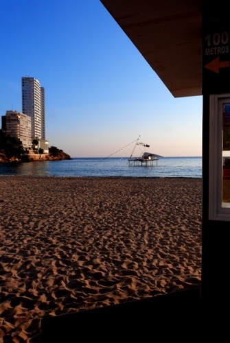 Playa Levante Benidorm - Cable Ski - March 2012