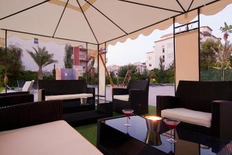 Boulevard Caf� Bar in Albir