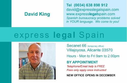 Need legal help and advice? Locate and English speaking solicitor in Spain and get free advice on matters od Spanish bureaucracy